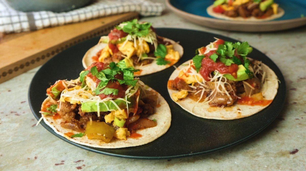 Breakfast Tacos | Eiwitrijke Ontbijt ideeën