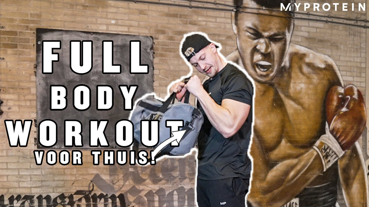 Anthony Kruijver Full Body Workout | Home Workout