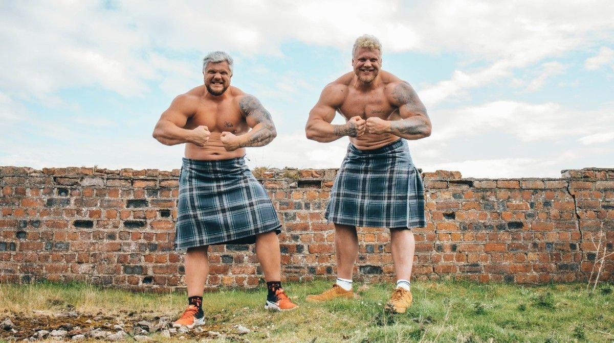 Bouw spieren op met deze 3 oefeningen van 's werelds sterkste broers
