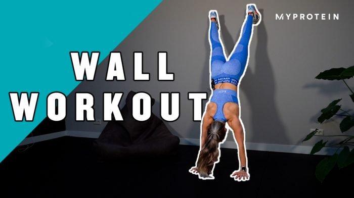 Wall Workout met Larissa van Meerten | Home Workout