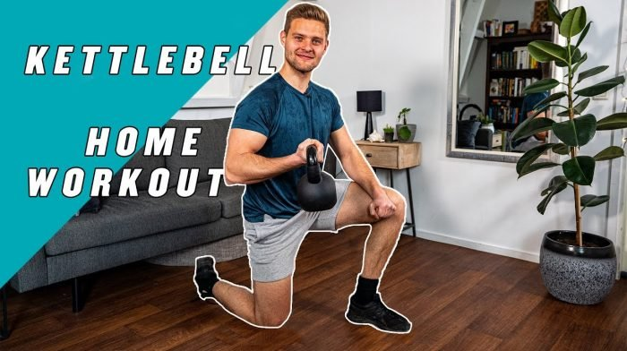 Kettlebell Home Workout met Tom Tuning | Full Body Workout