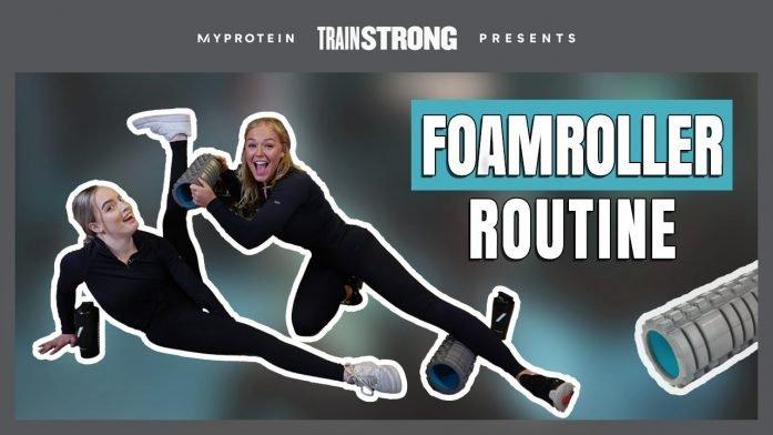 5 Minuten Full Body Foam Roller Routine   Workout Tips