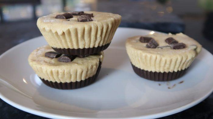 Vegan High-Protein Cookie Dough Cups