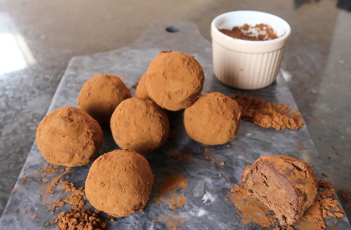 Heerlijke Zuivelvrije Protein Truffles