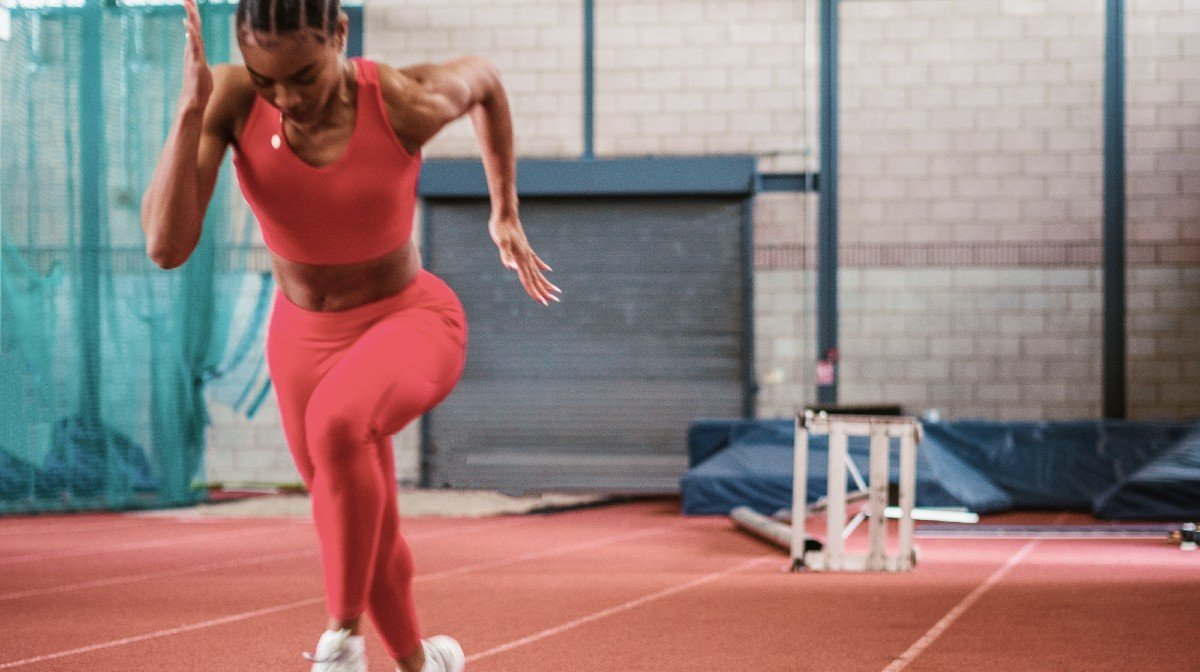 Imani-Lara Lansiquot praat over alles wat met sprinten te maken heeft | Sprinting To victory