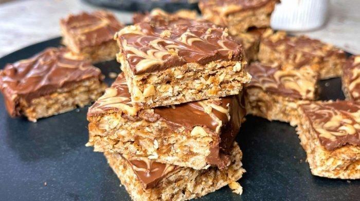 Chocolate Hazelnut Flapjacks