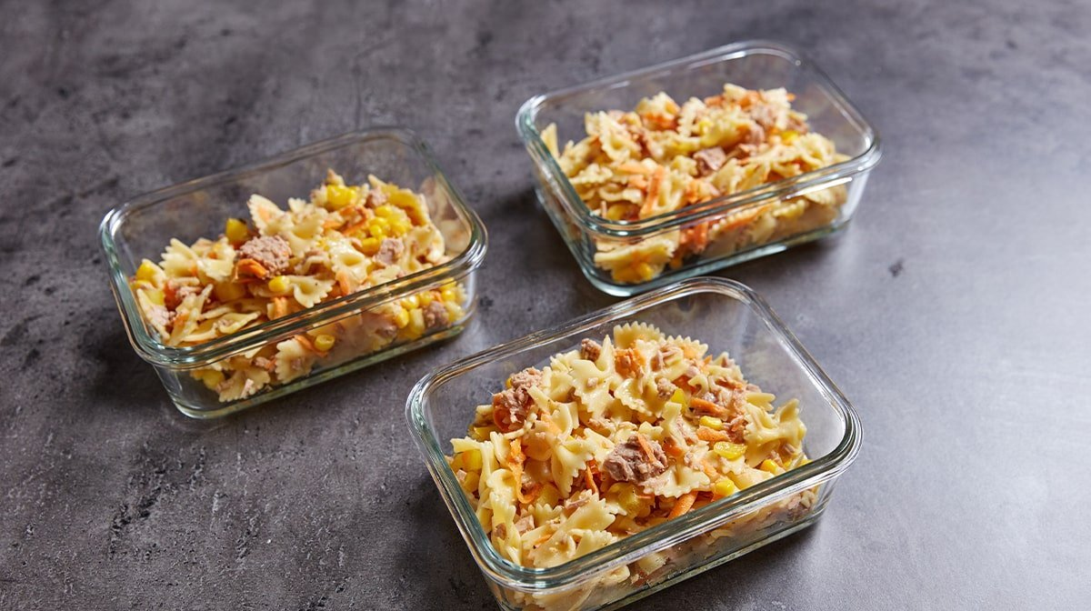 Easy Pasta Salade Meal Prep Recept