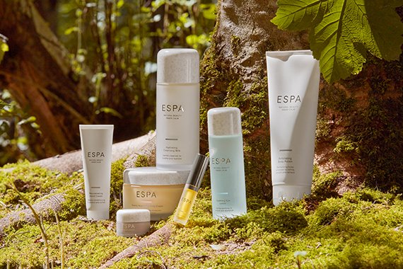 ESPA products on plant