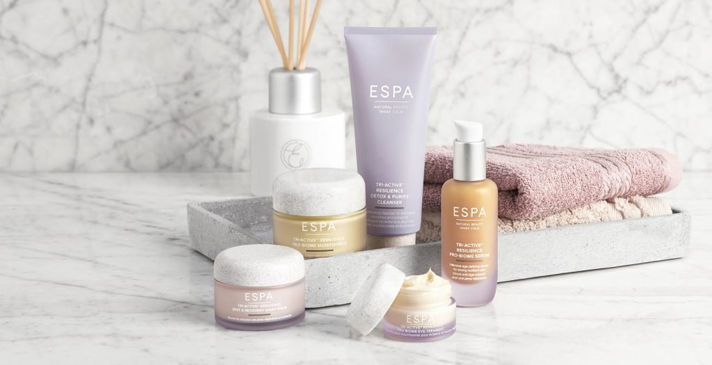 ESPA Skincare tri-active resilience probiome range