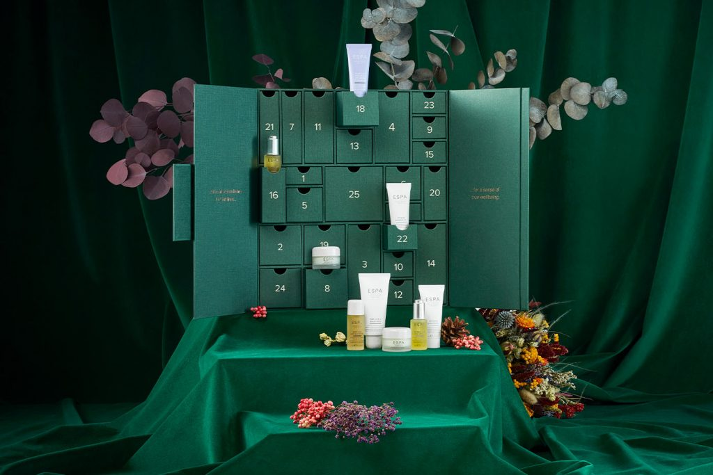 the no place like home advent calendar espa skincare