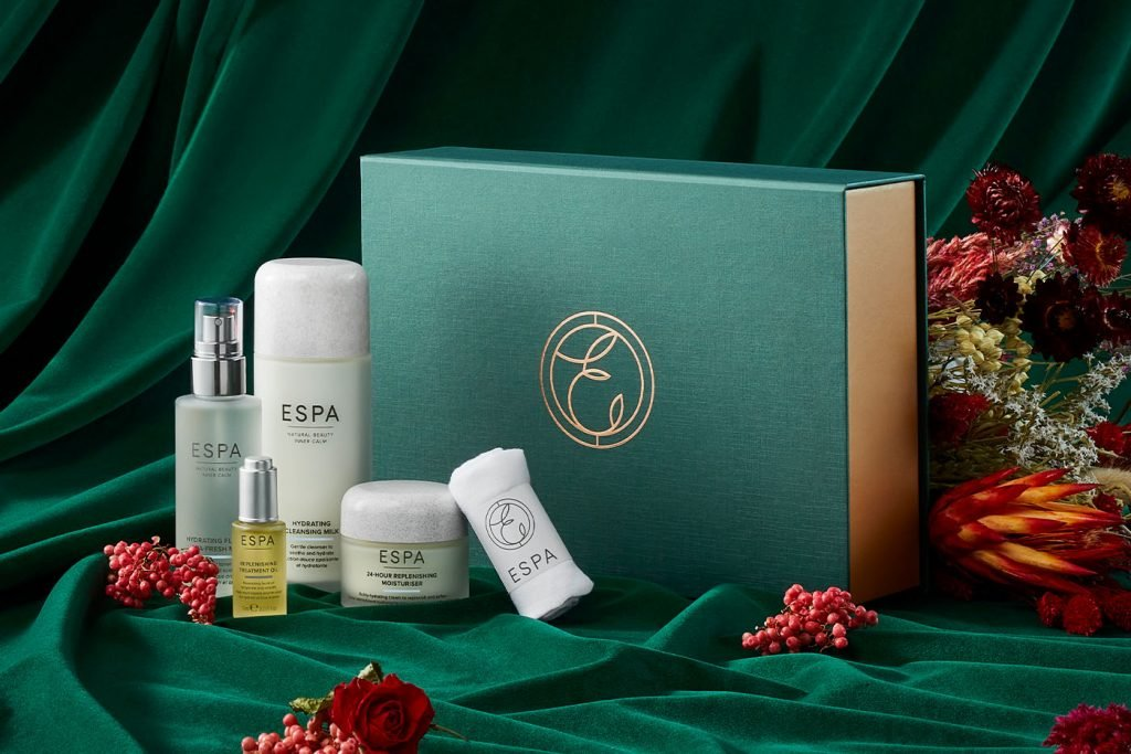 the replenishing gift collection for dry skin by espa skincare