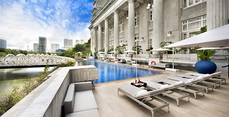 The Fullerton Hotel, Singapore, ESPA