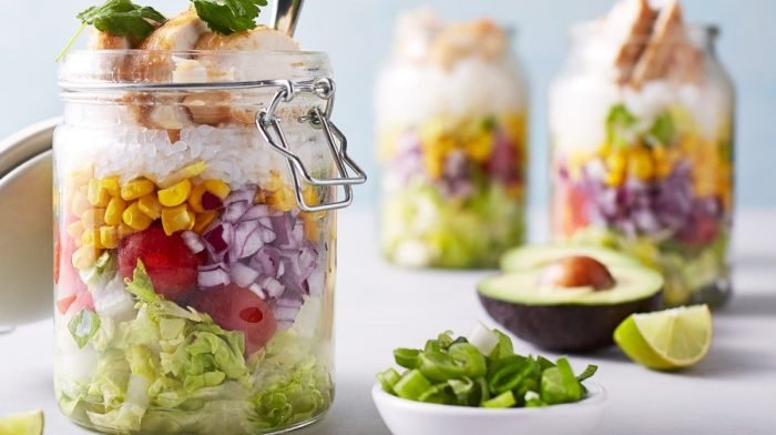 Low Carb Burrito Jars | 4-Day Meal Prep