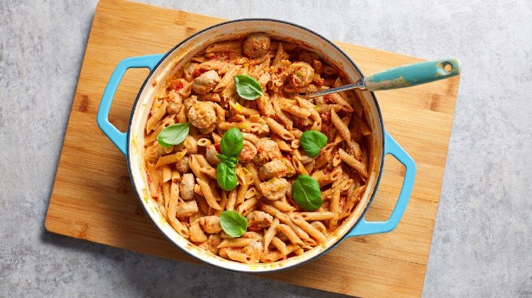 lean, creamy healthy pasta recipes