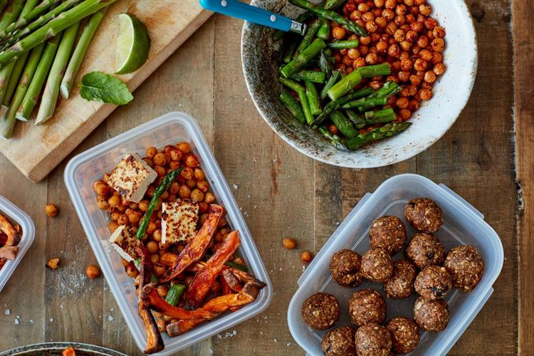 How to Meal Prep a Week of High-Protein Lunches in 30 Minutes ...