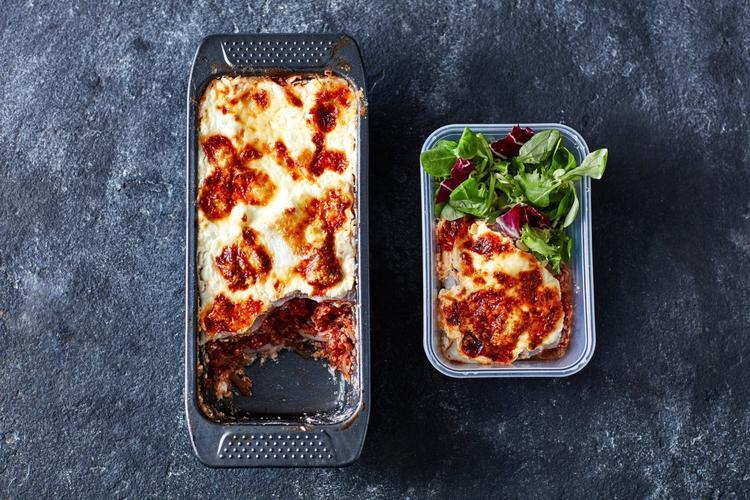 loaf tin lasagne