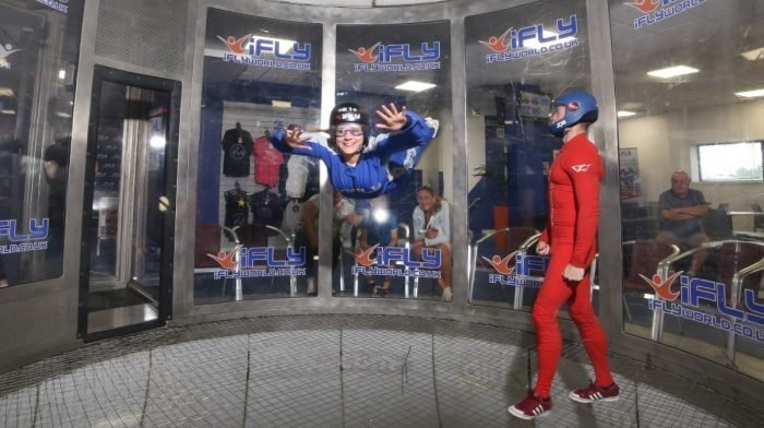 We Tried Indoor Skydiving | This Is What Flying Feels Like