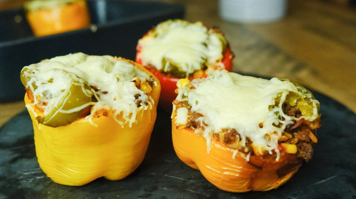 Mexican Stuffed Peppers | Easy Meal Prep Ideas