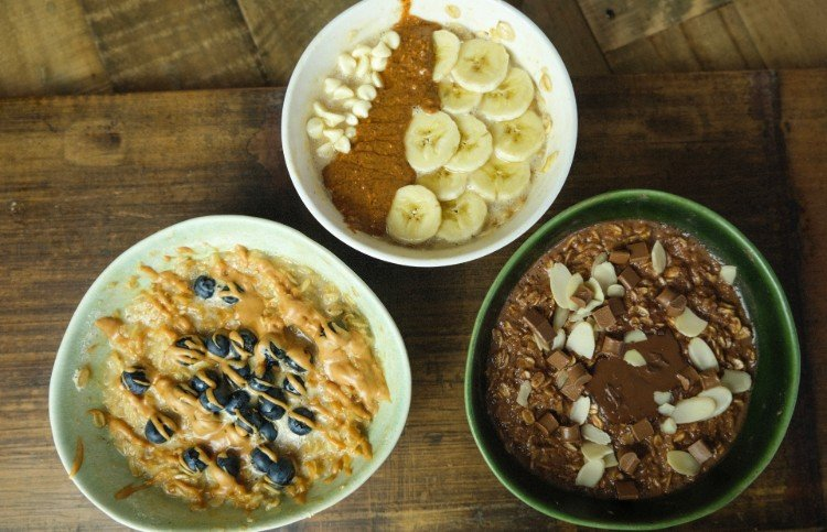 Protein Oats 3 Ways | Easy Breakfast Wins