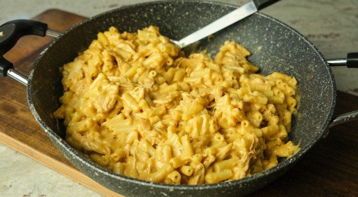 bbq mac and cheese