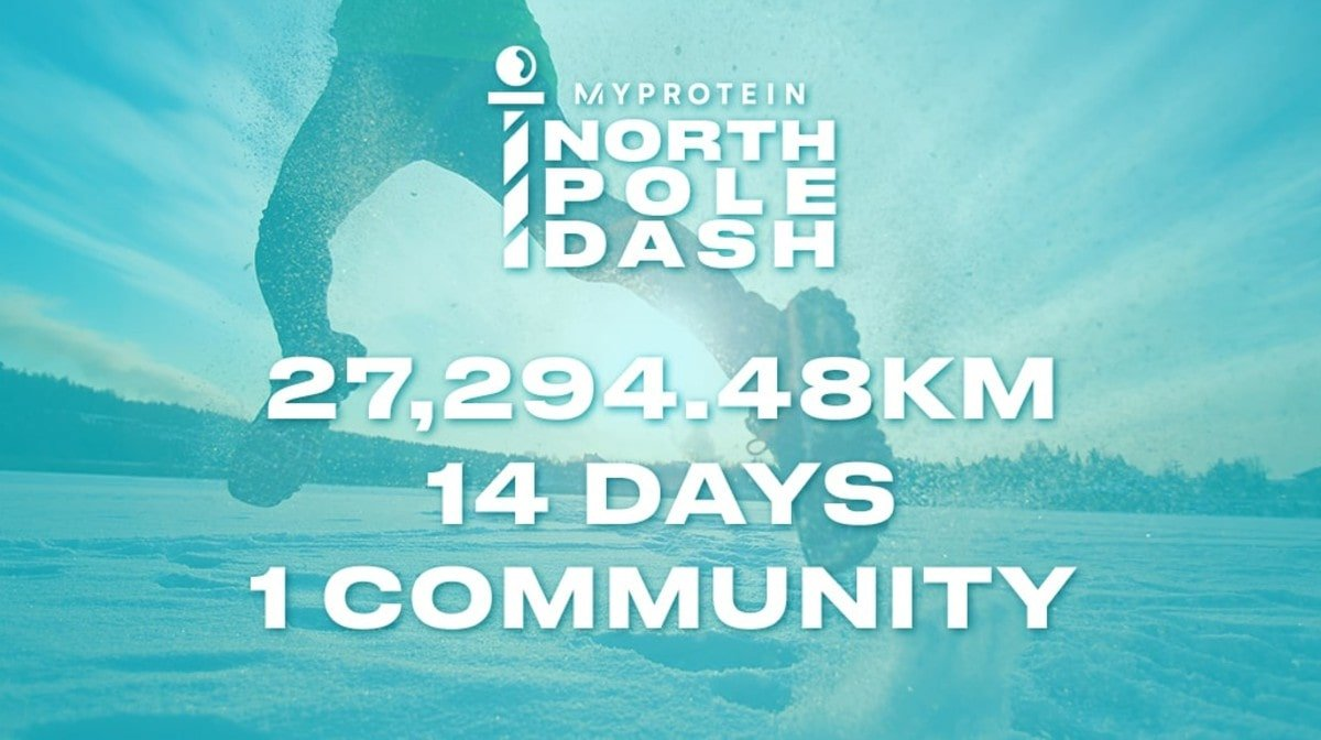 Myprotein's North Pole Dash | What Is It & How To Take Part