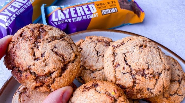 Easter Layered Bar Cookies | Simple & High-Protein