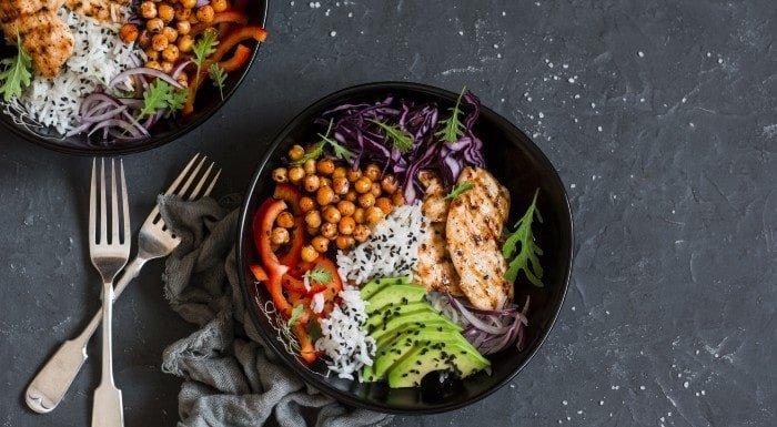 blood type diet food image