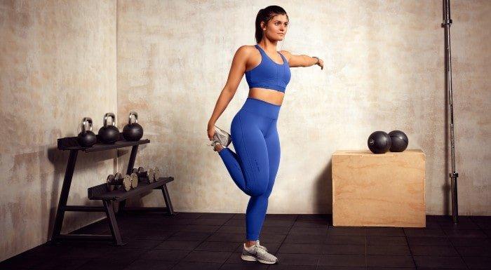 cobalt blue high rise leggings