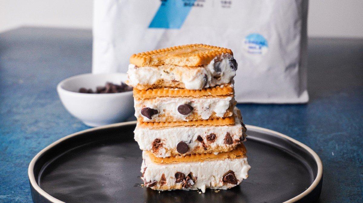 High-Protein Ice Cream Sandwich