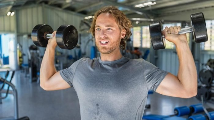 How to do the Shoulder Press with a Barbell or Dumbbells