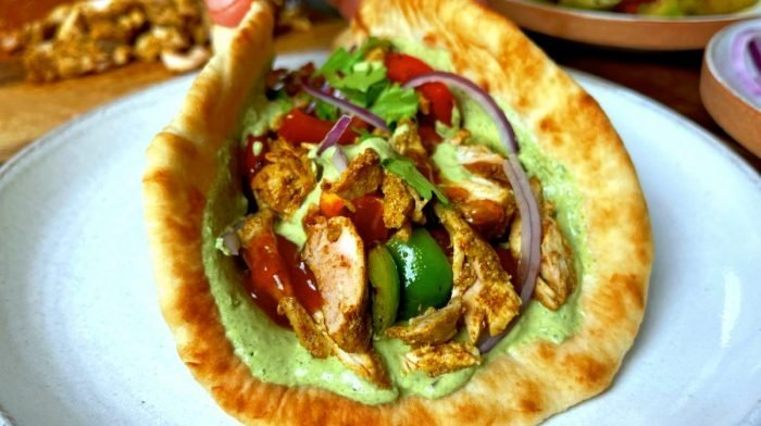 Chicken Curry Gyros | Ultimate Fakeaway Recipe