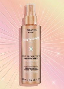 Hask Unwined Champagne Inspired Heat Protection Finishing Spray