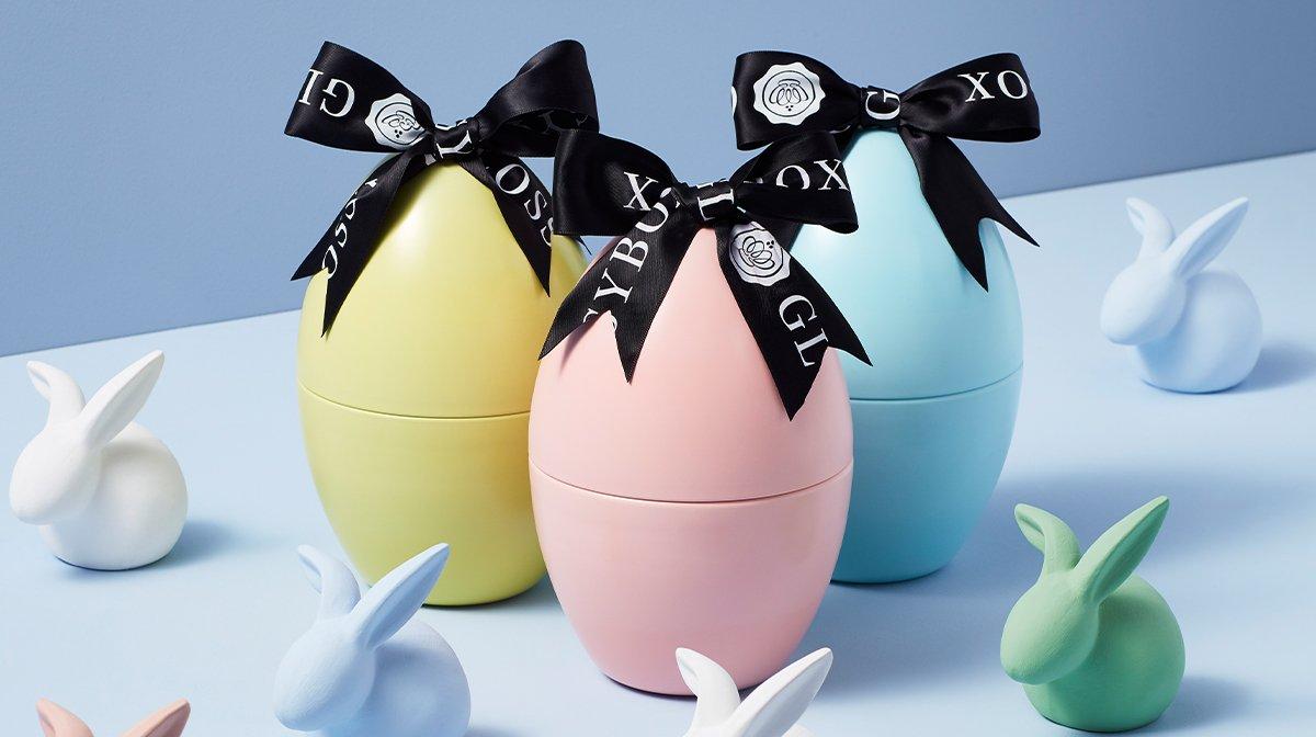 The Eggseptional Sneak Peek of Our GLOSSYEGG!