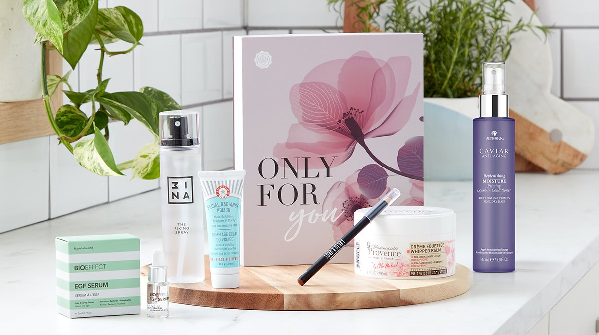 Just For You: Our Mother's Day Limited Edition GLOSSYBOX