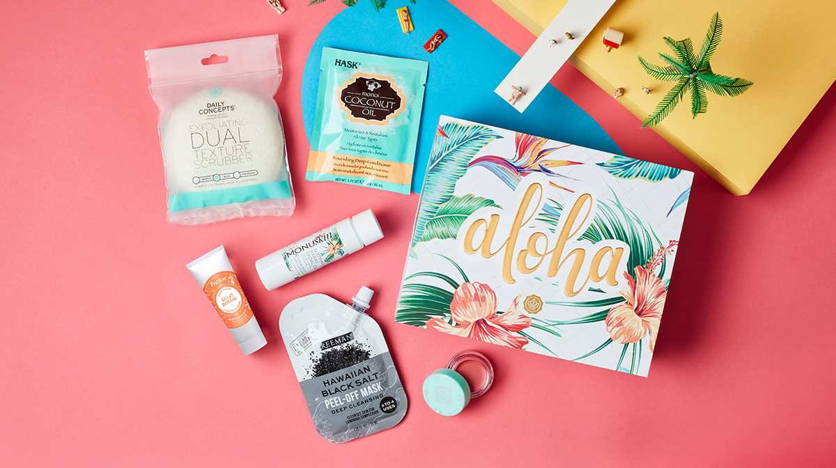 What's Inside Our Aloha GLOSSYBOX!