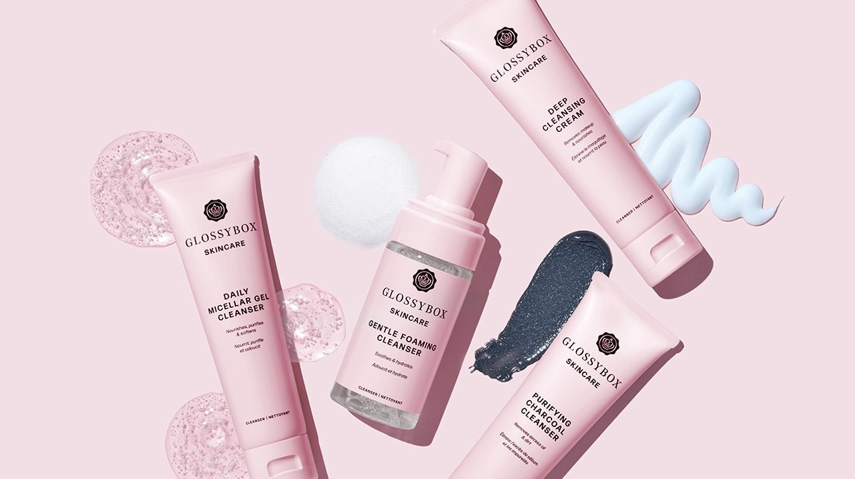 How to Use the 4 GLOSSYBOX Skincare Cleansers