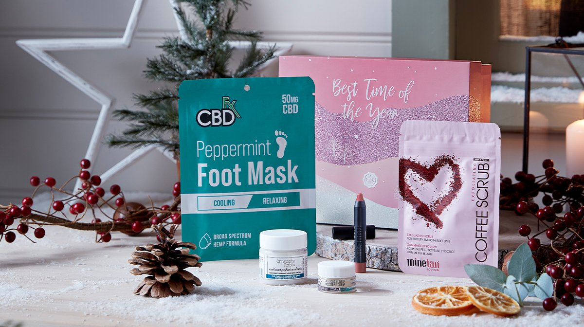 Our December GLOSSYBOX Reveal