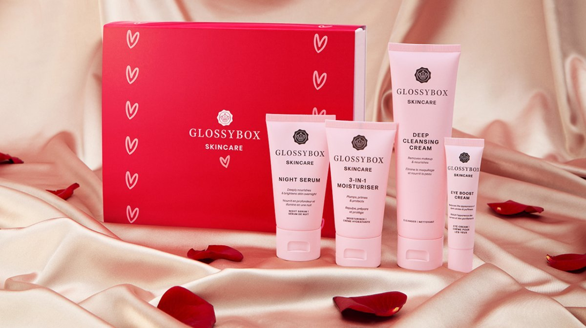 Share The Love With The I heart GLOSSYBOX Skincare Set!
