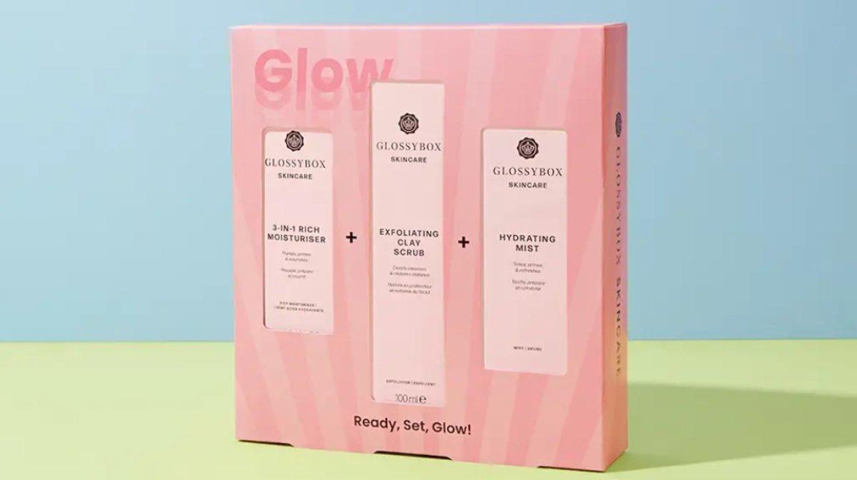 IntroducingThe GLOSSYBOX Ready, Set, Glow Skincare Set!