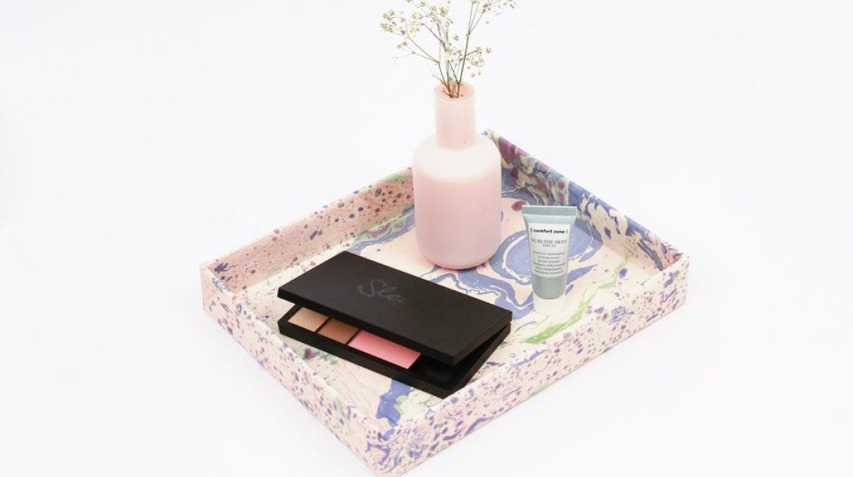 Upscale Your GLOSSYBOX: Make Your Own Beauty Organizer