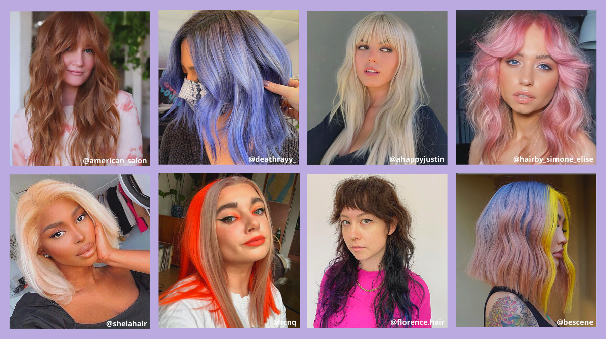 Five Spring Hair Trends To Inspire Your First Salon Appointment Back!