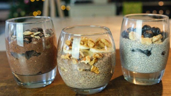 3 ínycsiklandó chia puding recept | Indítsd fehérjedús reggelivel a napot!