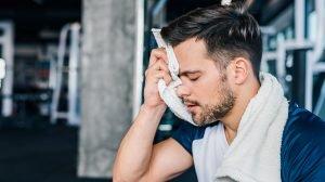 higiénia edzés közben
