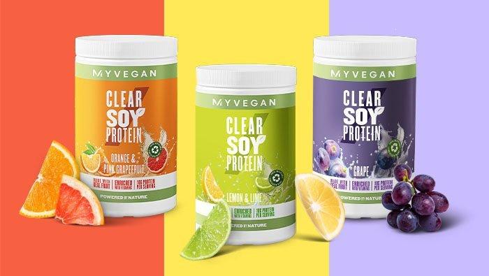 Megérkezett a világelső Clear Soy Protein! | A szója így lesz igazán üdítő!