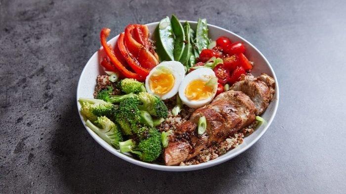 Könnyű fehérje tál | Egy gyors meal prep recept