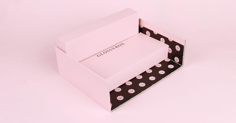 GLOSSYBOX nail polish stand