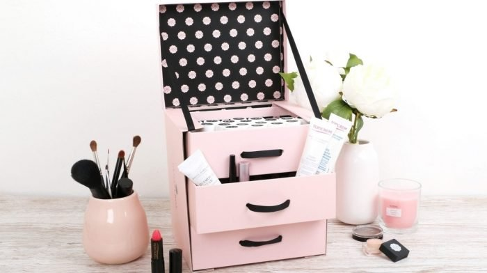 Upscale Your GLOSSYBOX: Cosmetic Organiser Drawer Unit