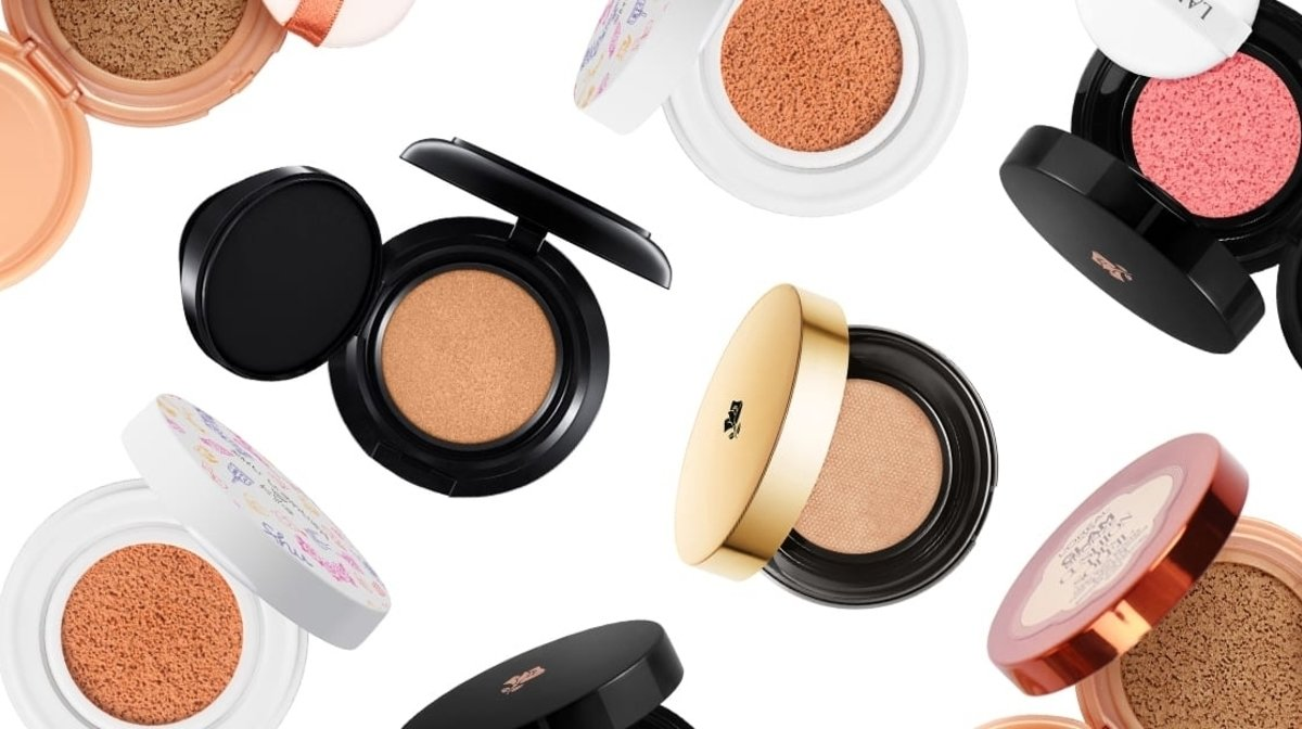 Seven Of The Best Cushion Compacts