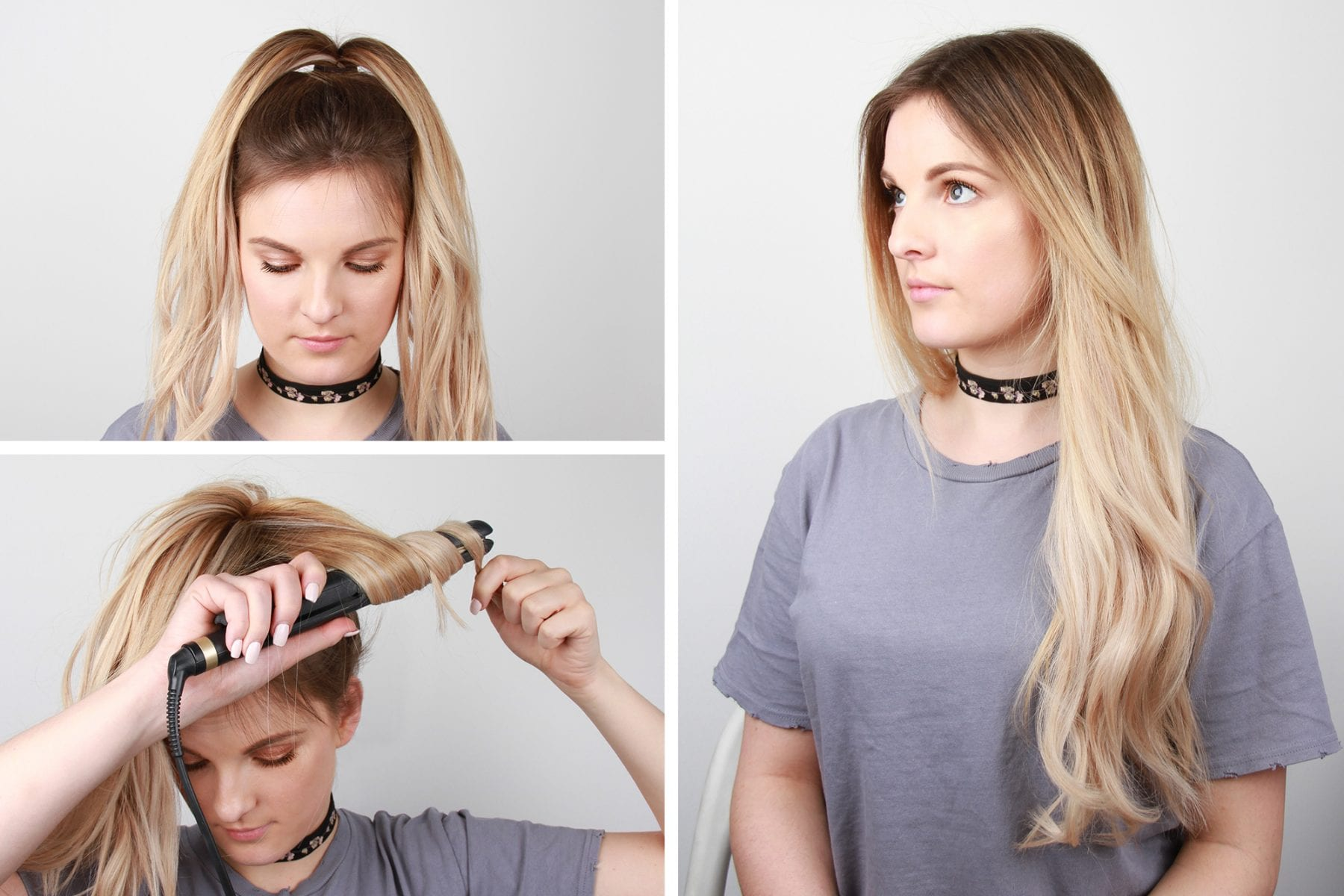 curling hair in less than 5 minutes