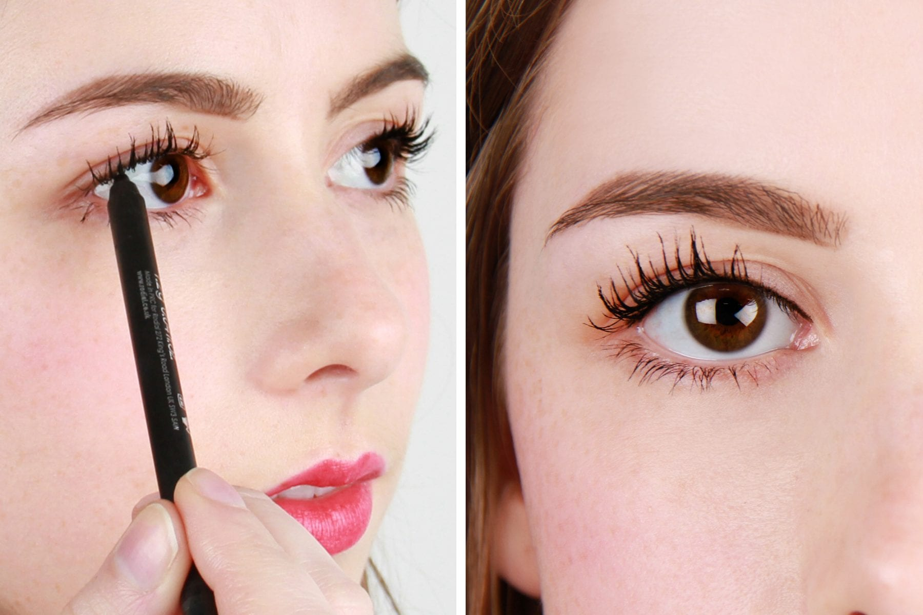 tightlining for fuller-looking lashes